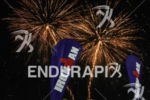 Fireworks to close the 2013 Ironman Nice on June 23,…