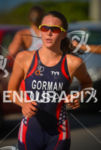 American Tamara Gorman running at the 2013 Vila Velha ITU…