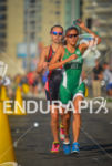 Mexican Andrea Gutierrez running in the hot wheather of Itaparica…