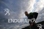 David Plese before the swim start of the Ironman Austria…