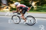 Santi Pellejero Gacía on the bike at the Ironman Austria…