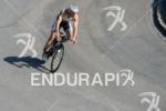 Bart Colpaert on the bike at the Ironman Austria in…