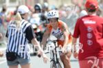 Andreas Boecherer on the bike at the transition at the…