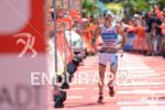 Michael Raelert at the finish line at the Ironman European…