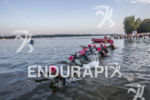 Pro Women swim start at the 2013 Ironman Muncie 70.3…