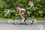 Nina Kraft on the bike at the 2013 Ironman Muncie…