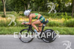 Dede Griesbauer riding her Blue at the 2013 Ironman Muncie…