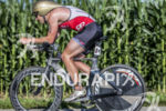 Devon Palmer riding his QR at the 2013 Ironman Muncie…
