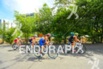 Chasing p[ack at the 2013 Cali World Games - Duathlon…