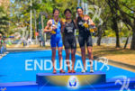 Female podium at the 2013 Cali World Games - Duathlon…