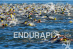 Swimming at the 2013 Ironman 70.3 Brasil in Brasilia, DF,…