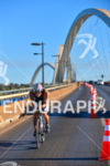 The famous JK Bridge at the 2013 Ironman 70.3 Brasil…