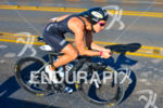 Brazilian pro Vanessa Gianinni riding at the 2013 Ironman 70.3…