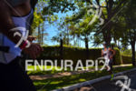 Amateur athletes crosses each other at the 2013 Ironman 70.3…