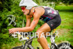 Maik Twelsiek crusining along to a win at the Ironman…