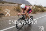 Joe Gambles riding in the rain at the 2013 Ironman…