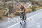 Heather Jackson on the run course at the 2013 Ironman…