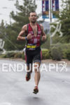 Joe Gambles on the run course at the 2013 Ironman…