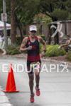 Melissa Hauschildt on the run course at the 2013 Ironman…