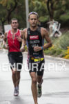 Kevin Collington on the run course at the 2013 Ironman…
