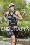 Kate Bevilaqua on there run course at the 2013 Ironman…