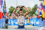 Sebastian Kienle (ALE) wins the 2013 Ironman 70.3 World Championships…