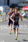 Greg Billington on run during the prelims at the Super…