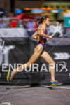 Gwen Jorgensen on run at the Super Sprint Triathlon Grand…