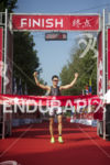 Javier Gomez Noya of Spain claims victory at the 2013…