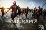 Women wave start at the 2013 Ironman 70.3 Pays d'Aix…
