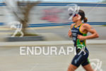 Beatriz Neres running for victory at the 2013 Manaus ITU…