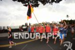 Germany at the parade of Nations at the 2013 Ironman…