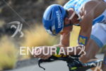 Andreas Raelert (Germany) on the bike portion of the 2013…