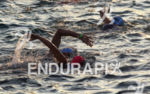 Ironman swimming to the start of the 2013 Ironman World…