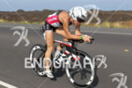 Ironman Mary Beth ELLIS (USA) competes during the bike portion…