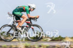 Heather Wurtele competes during the bike portion of the 2013…