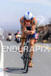 Sebastian Kienle riding fast at the 2013 Ironman World Championship…