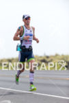 Frederik Van Lierde running at the 2013 Ironman World Championship…
