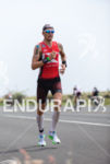 Timo Bracht running at the 2013 Ironman World Championship in…