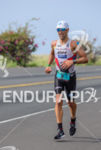 Eneko Llanos running at the 2013 Ironman World Championship in…
