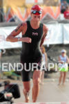 Linsey Corbin exits water at the Ironman World Championship in…