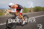 Mathew Russlle on bike at the Ironman World Championship in…