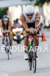 Terenzo Bozzone riding at the 2013 Ironman 70.3 Miami in…