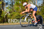 Lisa Huetthaler riding at  the 2013 Ironman Florida in Panama…