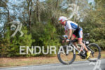 Timothy O'Donnell on an easy riding at  the 2013 Ironman…