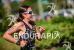 Amber Ferreira running at  the 2013 Ironman Florida in Panama…