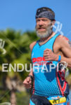 Vinny Johnson running at  the 2013 Ironman Florida in Panama…