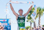 Victor del Corral (Spain) wins the 2013 Ironman Florida in…