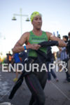 Meredith Kessler exits the water at Ironman Arizona on November…