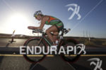 Meredith Kessler on the bike at Ironman Arizona on November…